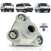 Coxim Amortecedor Lado Esquerdo Alumínio Original Fiat Ducato Citroen Jumper Peugeot Boxer 2008 09 10 11 12 13 14 15 16 17