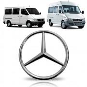Emblema Estrela da Grade Mercedes Benz Sprinter 310/311/312 1997 1998 1999 2000 2001 2002 2003 2004 2005 2006 2007 2008 2009 2010 2011 2012
