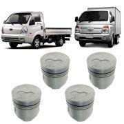 Pistão Standard Com Pino 28mm da Hyundai Hr e BONGO K2500 8V 2004 à 2012