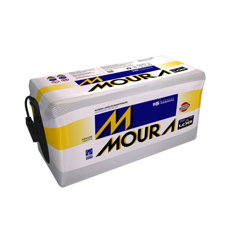 Bateria Moura 95AH - M95QD -  Livre de Manutenção - (A Base de Troca)