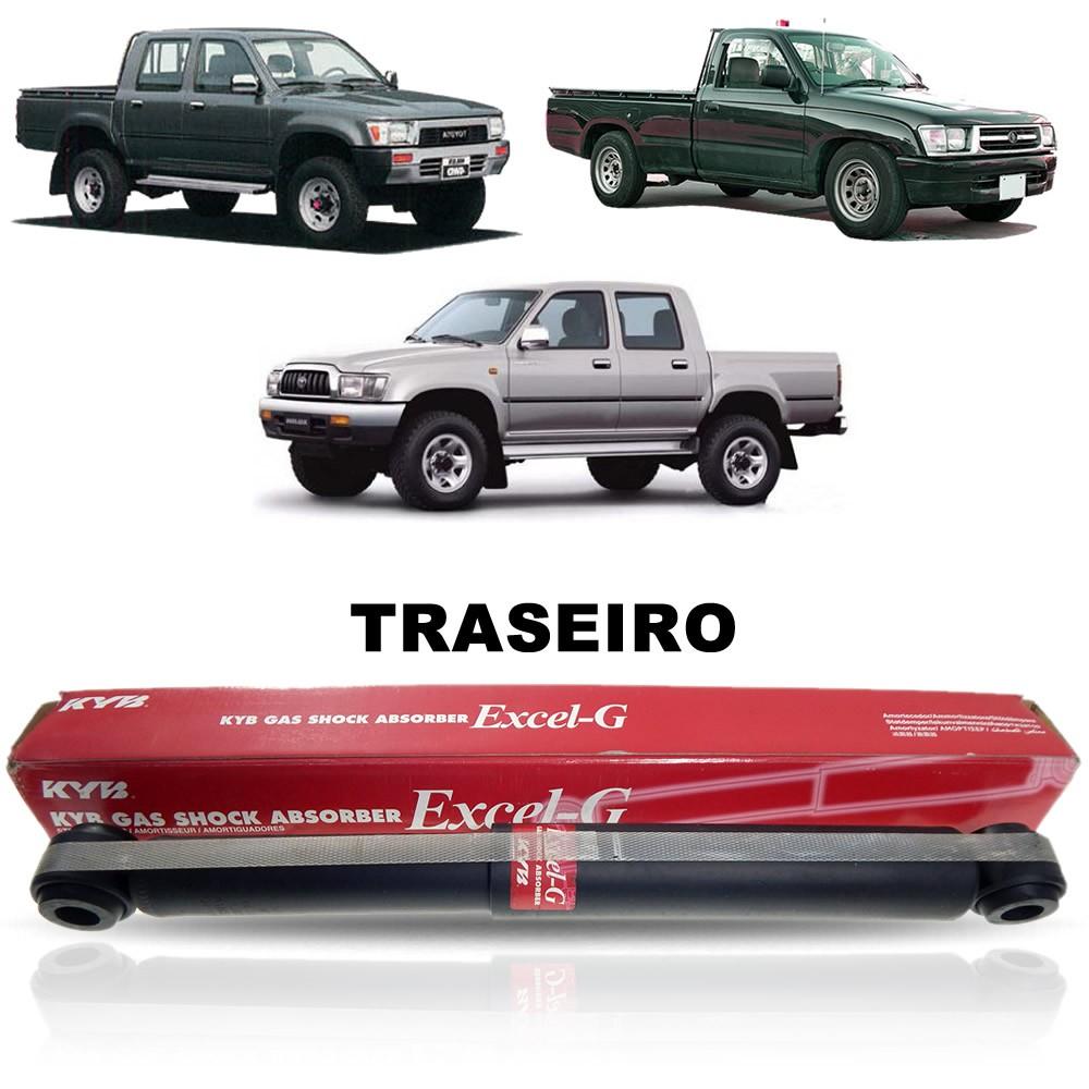 Amortecedor Traseiro (Kyb 343253) Toyota Hilux SRV 1991 1992 1993 1994 1995 1996 1997 1998 1999 2000 2001 2002 2003 2004