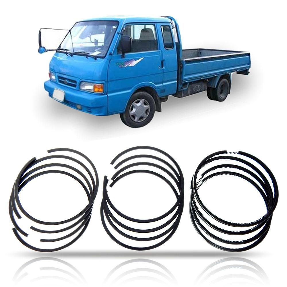 Anel de Pistão Standard (JG) Kia Bongo K2400 1993 1994 1995 1996 1997