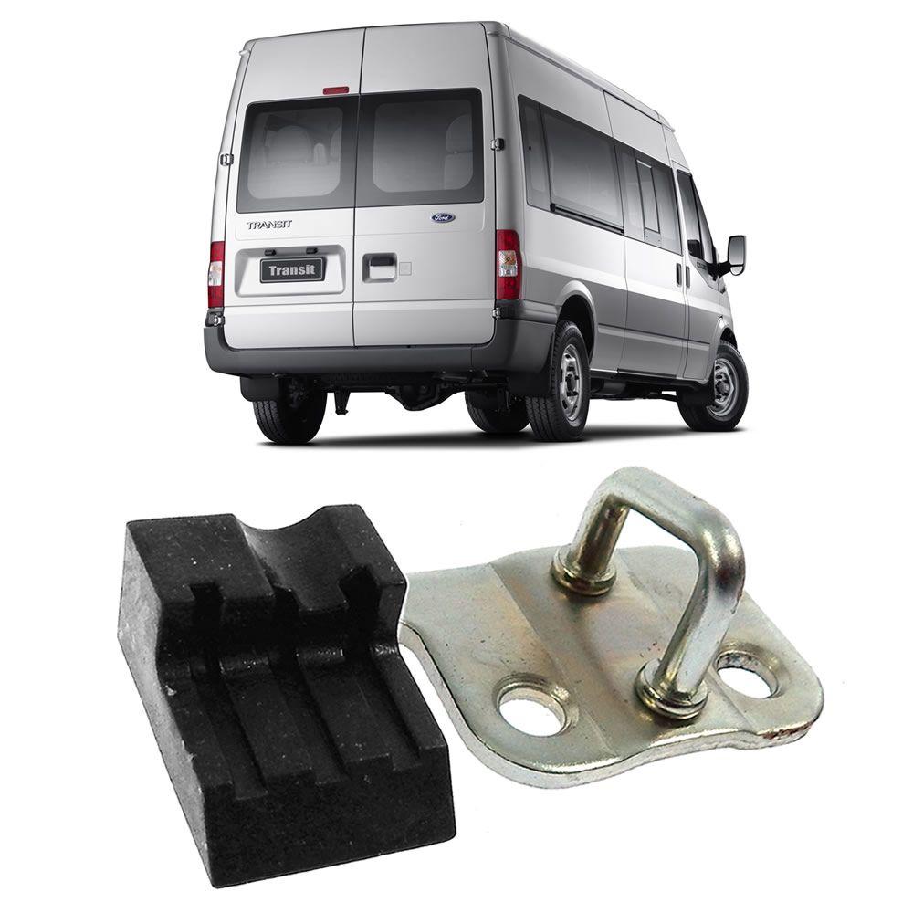 Batente Inferior Lado Esquerdo da Porta Traseira da Ford Transit 2008 à 2018