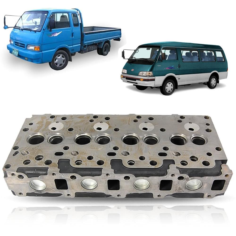 Cabeçote Kia Bongo K2400 Asia Topic 1993 1994 1995 1996 1997