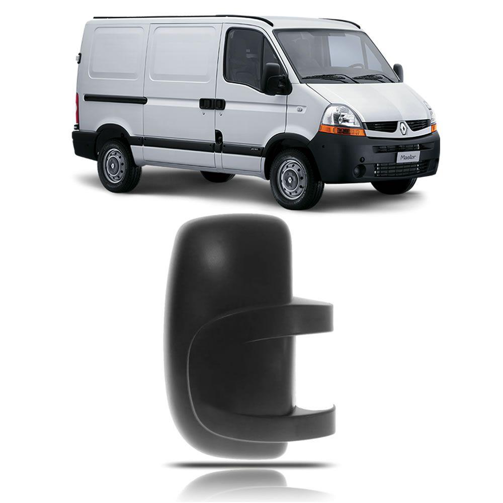 Capa do Retrovisor Lado Direito Renault Master 2004 2005 2006 2007 2008 2009 2010 2011 2012 2013