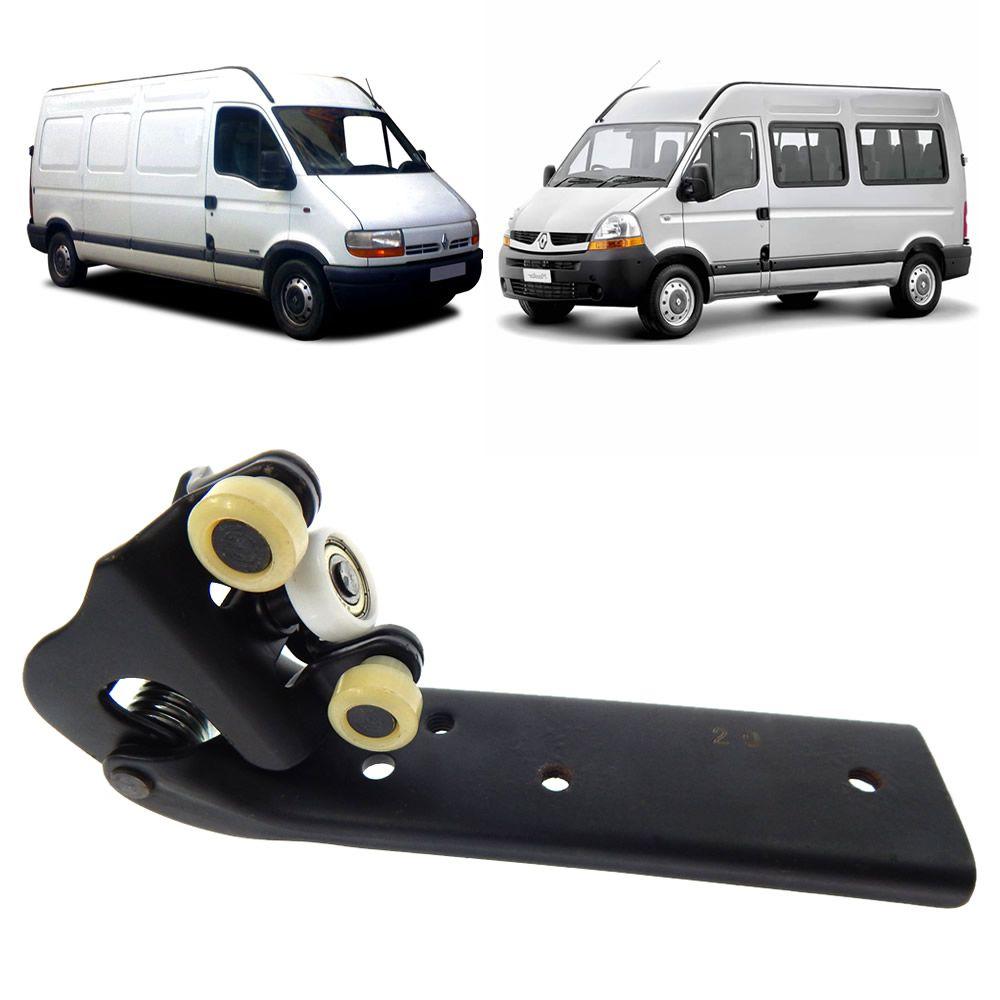 Carrinho do Meio da Porta Central da Renault Master 2002 2003 2004 2005 2006 2007 2008 2009 2010 2011 2012 2013