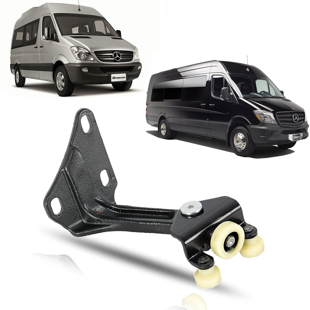 Carrinho Superior da Porta Central Mercedes Benz Sprinter 2012 2013 2014 2015 2016 2017 2018 2019