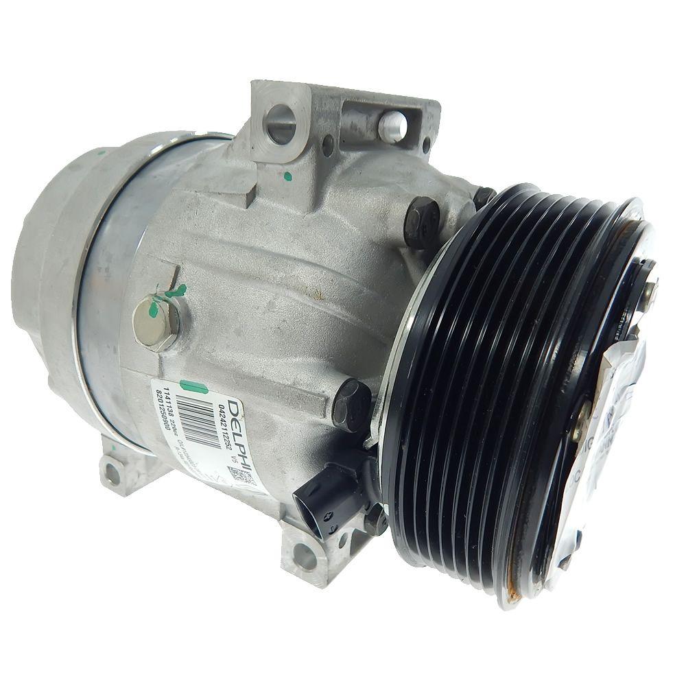 Compressor do Ar Condicionado Original da Renault Master 2005 2006 2007 2008 2009 2010 2011 2012