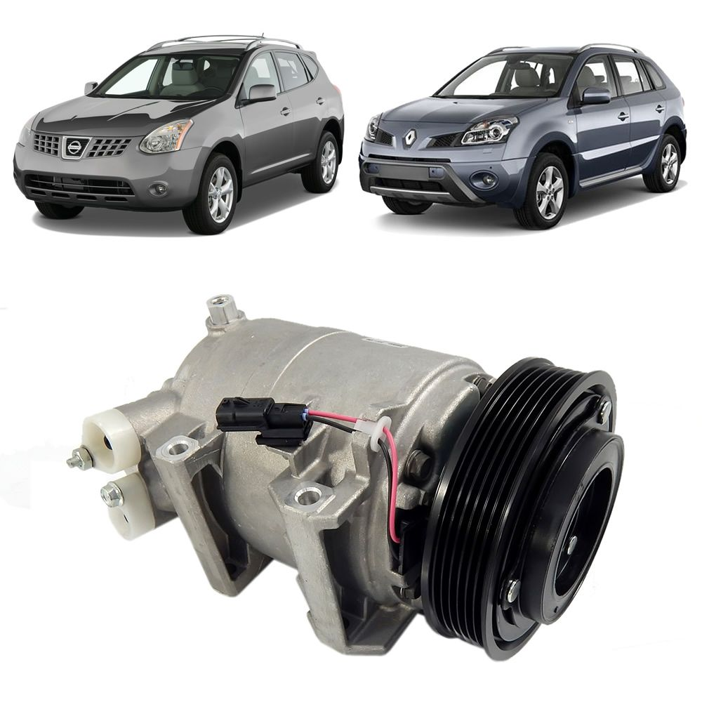 Compressor do Ar Condicionado do Renault Koleos e Nissan Rogue 2008 2009 2010 2011
