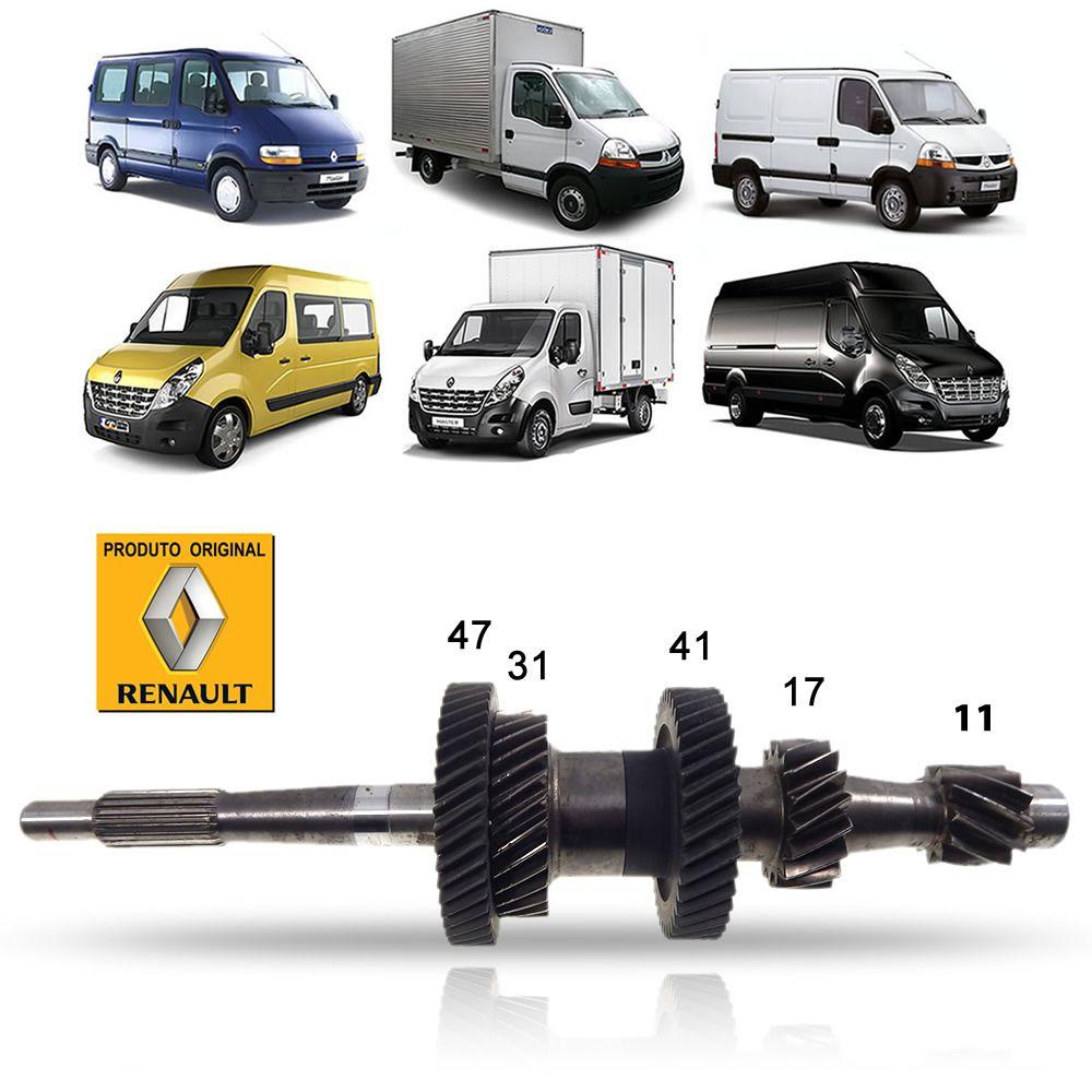 Eixo Piloto Original Renault Master 2.3 2.5 6 Marchas 2002 03 04 05 06 07 08 09 10 11 12 13 14 15 16 17 18 19 20