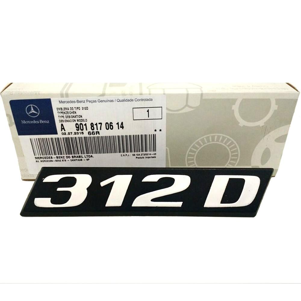 Emblema da Grade Original Mercedes Benz Sprinter 312D 1997 1998 1999 2000 2001