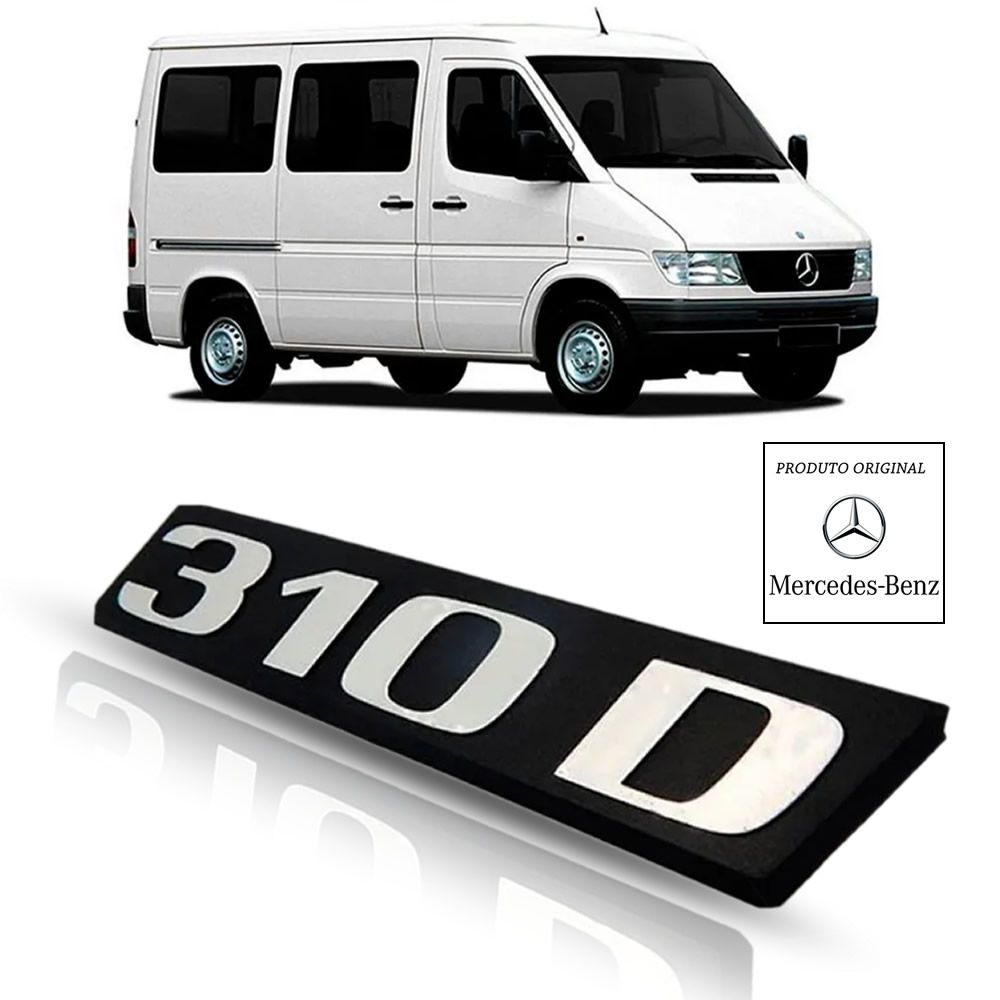 Emblema da Grade Original Mercedes Benz Sprinter 310 D 1997 1998 1999 2000 2001