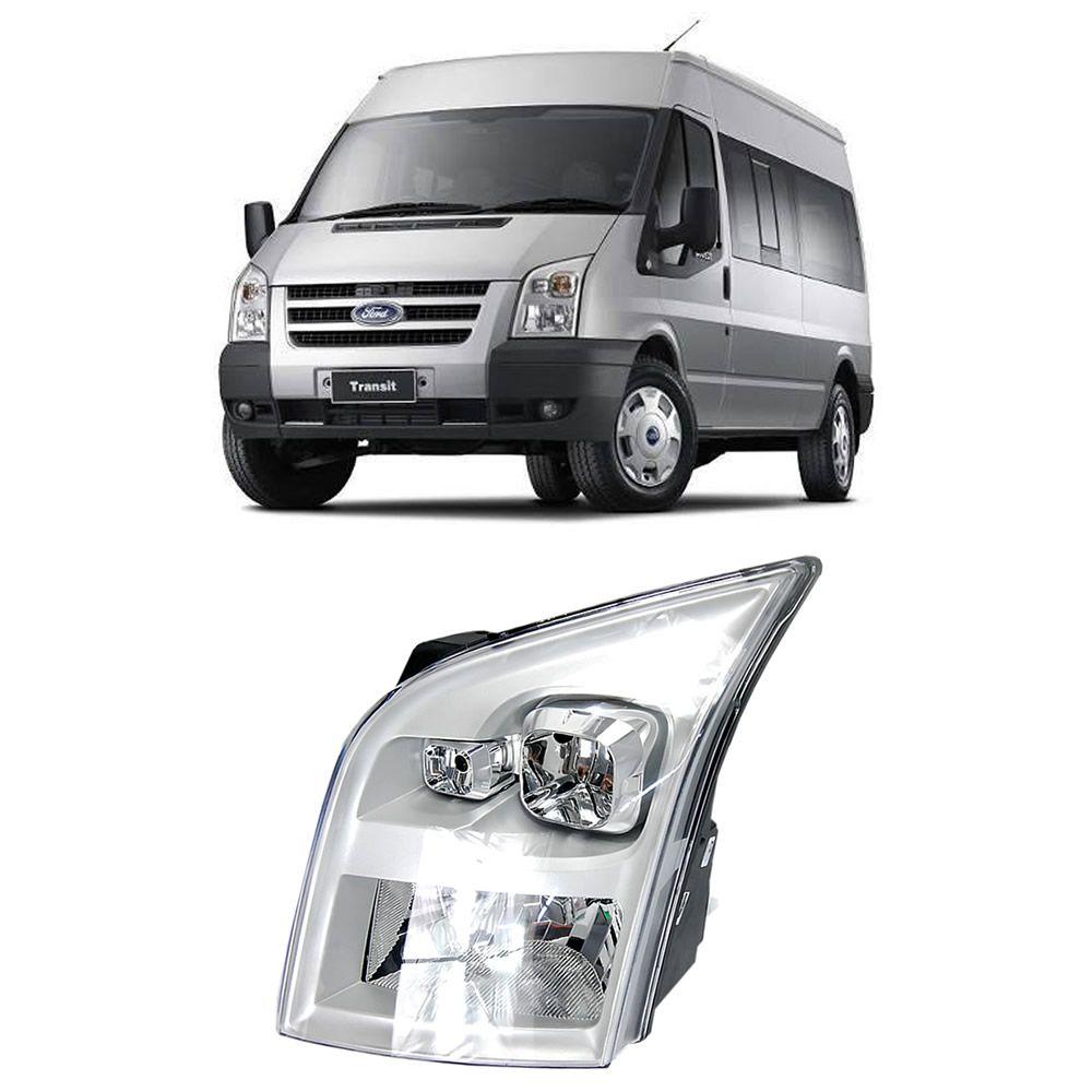 Farol Lado Esquerdo Transit 2008 2009 2010 2011 2012 2013 2014 2015 2016 2017