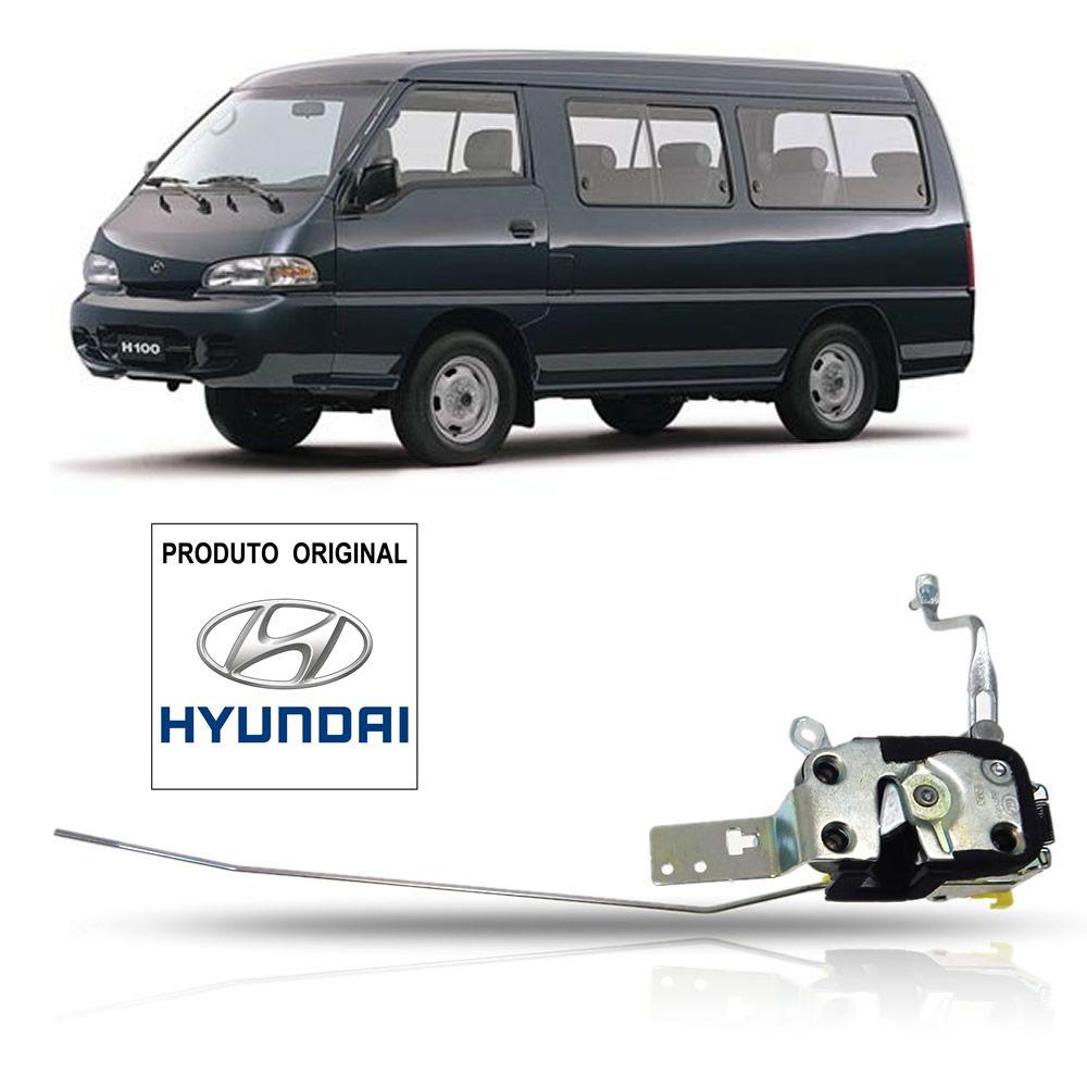 Fechadura Porta Dianteira Lado Esquerdo Original Hyundai H100 1994 1995 1996 1997 1998 1999 2000 2001 2002
