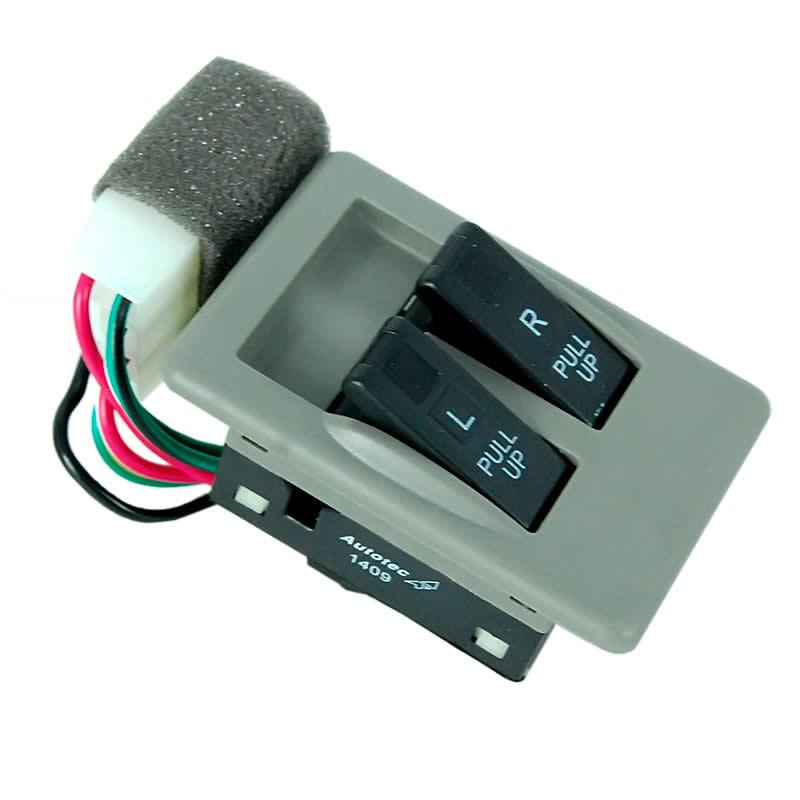 Interruptor do Vidro Elétrico Lado Esquerdo Duplo Kia Besta 2.7 Topic 1993 1994 1995 1996 1997 1998
