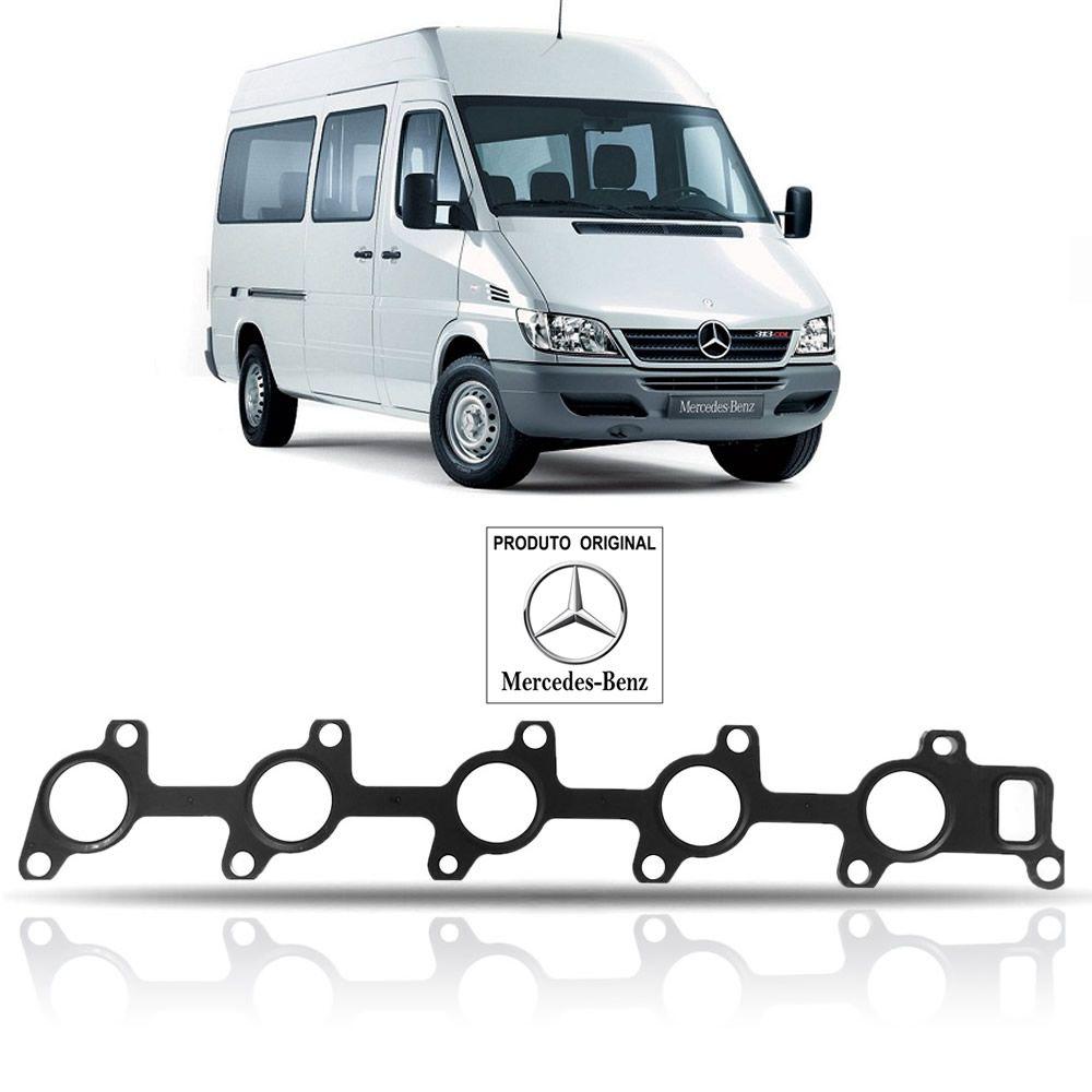 Junta do Coletor do Escape Original 16V Mercedes Benz Sprinter CDI 2002 2003 2004 2005 2006 2007 2008 2009 2010 2011 2012