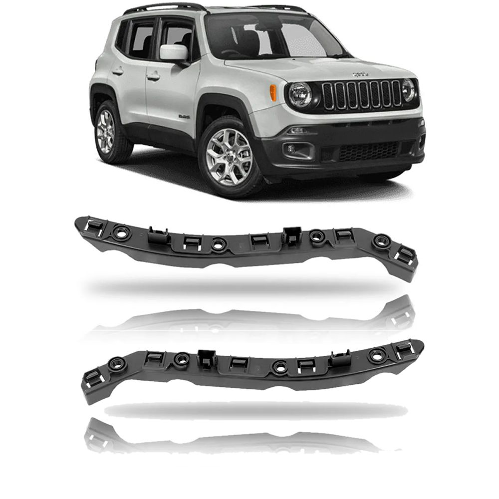 Kit Guia Parachoque Jeep Renegade 2015/2018