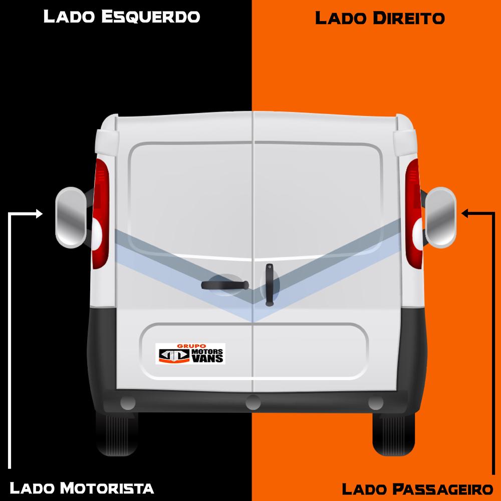 LANTERNA TRASEIRA LADO DIREITO FORD TRANSIT 2008 2009 2010 2011 2012 2013 2014