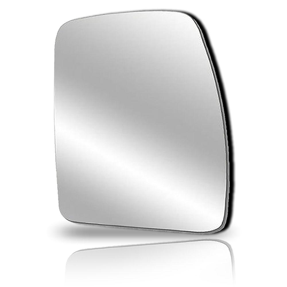 Lente Vidro Espelho Superior Lado Esquerdo C/Base Retrovisor Iveco 2008 2009 2010 2011 2012 2013 2014 15 16 17 18 19