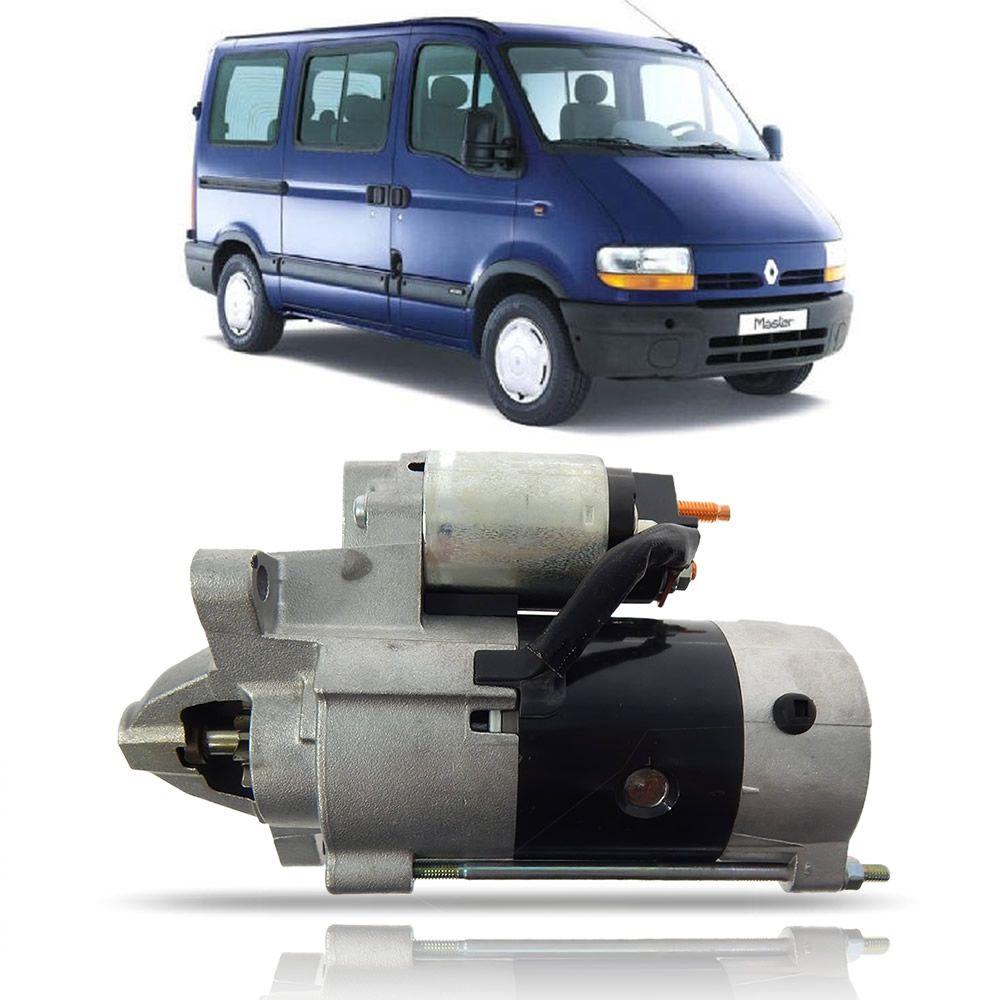 Motor de Arranque Original Renault Master 2.8 Turbo e Aspirado 2002 2003 2004