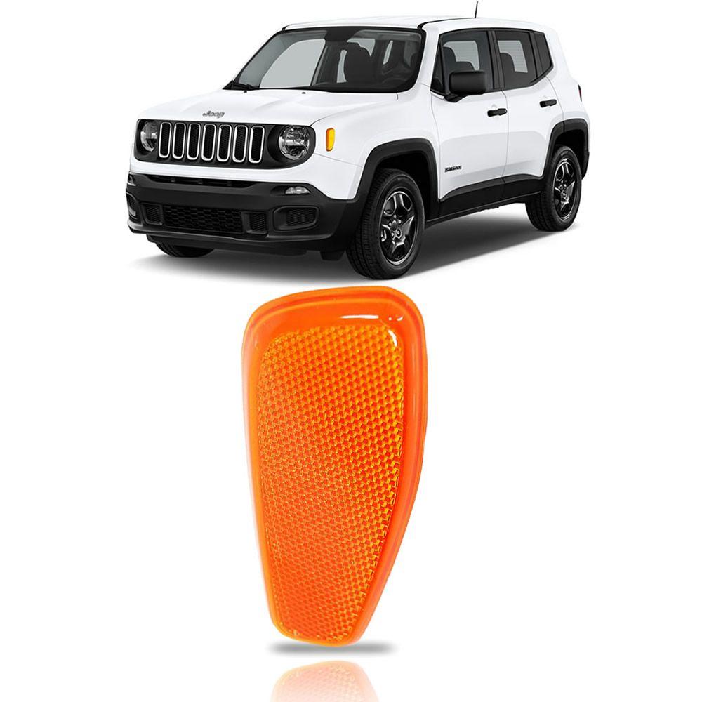 Olho de Gato Laranja Lado Esquerdo Jeep Renegade 2015 2016 2017 2018 2019 2020 2021