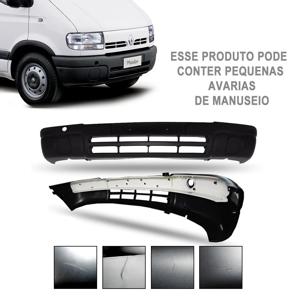 Parachoque Dianteiro Com Alma (Reforço) Renault Master 2002 2003 2004 2005 2006 2007 2008 2009