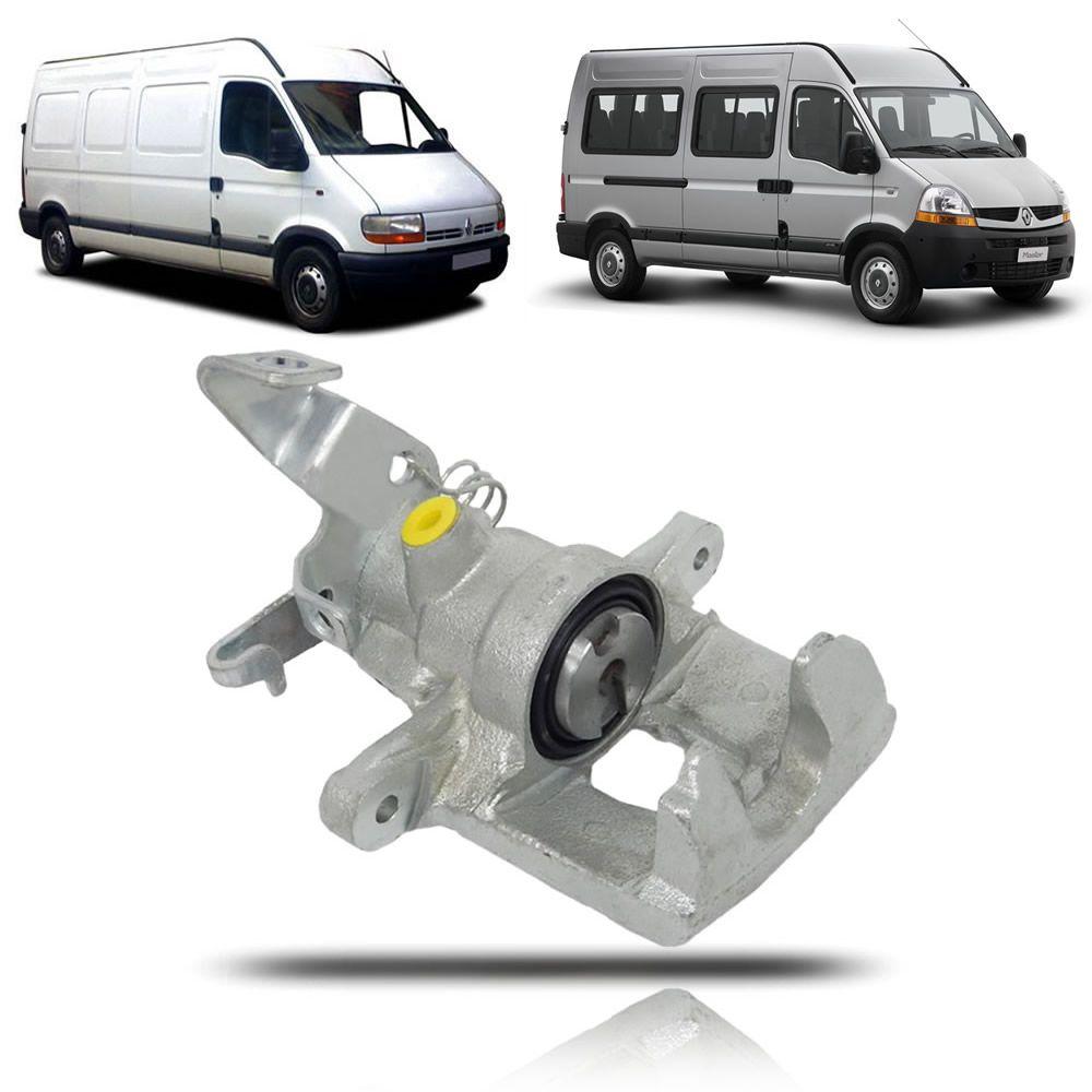 Pinça de Freio Traseiro Lado Direito Renault Master 2002 2003 2004 2005 2006 2007 2008 2009 2010 2011 2012 2013