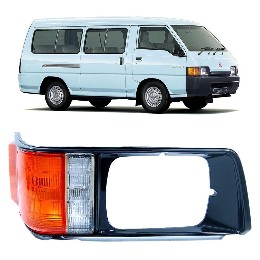 Pisca da L300  com Aro do Lado Direito 1995 1996 1997 1998 1999 2000