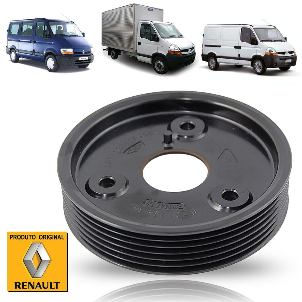 Polia de Direção Hidráulica Renault Master 2.5 2005 2006 2007 2008 2009 2010 2011 2012