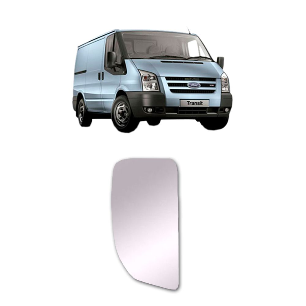 Refil Grande do Retrovisor Lado Direito Ford Transit 2008 2009 2010 2011 2012 2013 2014 2015 2016 2017 2018