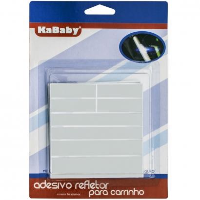Adesivo Refletor Para Carrinhos de Bebê e Bicicletas Refletor Luminoso Em Tiras Kababy
