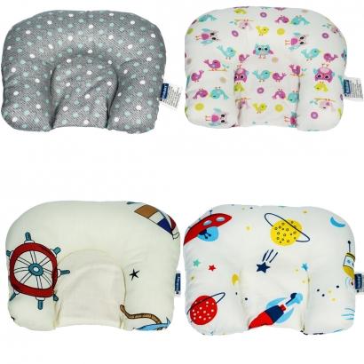 Almofada de Bebê Cabeça Suporte Protetor Infantil Macio Kababy
