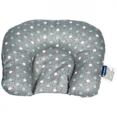 Almofada de Bebê Cabeça Suporte Protetor Infantil Macio Kababy Cinza