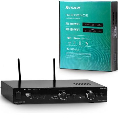 Amplificador Receiver Residence RD240 Wifi G2 Frahm