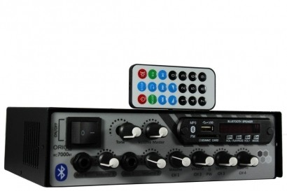 Amplificador Receiver Som Ambiente ORION RC7000 Bluetooth 500w