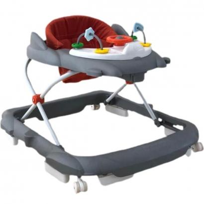 Andador de Bebê Torino Infantil Altura Regulável com Trava de Segurança e Painel Interativo Galzerano