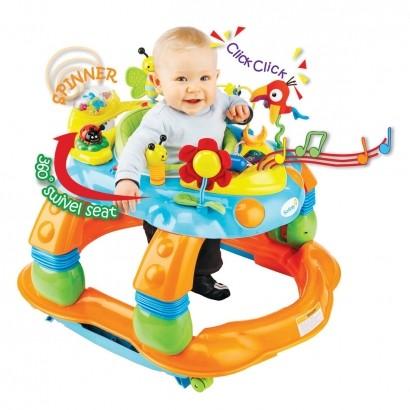 Andador Função Balanço e Centro de Atividade Melody Garden Safety 1st