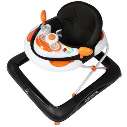 Andador Infantil Para Bebê Regulável Liam Preto - Galzerano