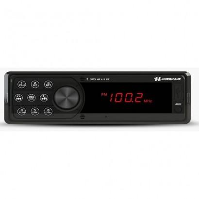 Auto Rádio HR 412 Com Bluetooth/MP3/USB Hurricane
