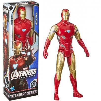 Boneco Infantil Articulado Homem de Ferro 30 cm Vingadores Marvel Disney Para +4 Anos - Hasbro