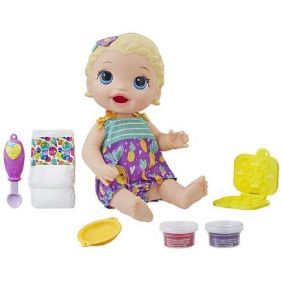 Baby Alive Lanchinhos Divertidos Loira Hasbro E5841