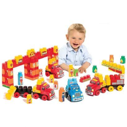 Brinquedo Baby Land Super Resgate C/ 125 Peças Educativo e Divertido