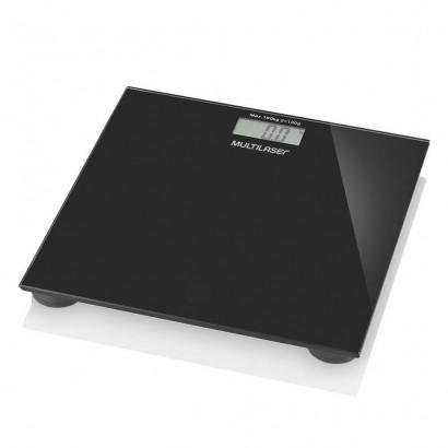 Balança Digital Digi-health Multilaser Preta até 180 Kg Hc022