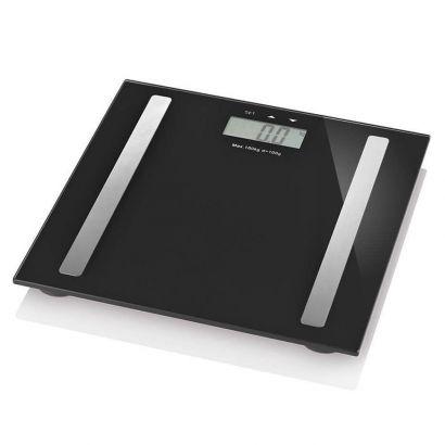 Balança Digtal Pro Preta Serene Multilaser Até 180kg Hc030