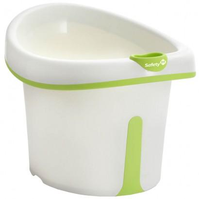 Banheira Ofurô Infantil com Assento Bubbles Green De 1 a 3 Anos - Safety