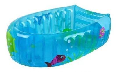 Banheira Inflável Burigotto Nemo Blue
