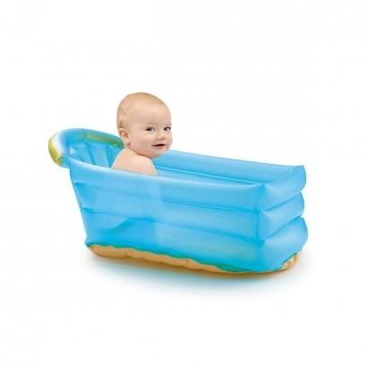 Banheira Inflavel Para Bebê Dias de Calor Bath Buddy Azul