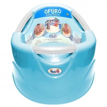 Banheira Ofurô Bom Banho 15L Azul Até de 15 a 36 Meses até 25Kg - BonPoint