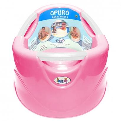 Banheira Ofurô Bom Banho 15L Rosa Até de 15 a 36 Meses até 25Kg - BonPoint