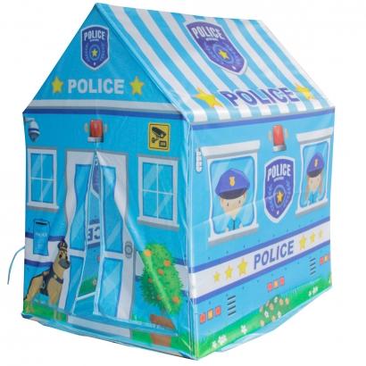 Barraca Casinha Infantil Policia Com Porta Brinquedo Criança Importway